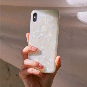 Recover UO Shimmer Iridescent iPhone X Case